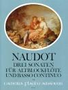 NAUDOT 3 Sonaten op. 14 - Part.u.St.