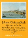 BACH J.Chr.  Quintet in E flat major op. 11/4