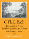 BACH C.Ph.E. Sonata a tre in A major (Wq 146)
