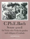 BACH C.Ph.E.  Sonate in g-moll (Wq 88)