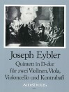 EYBLER Quintet in D major [First Edition] - Parts