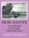 "MERCADANTE ""La Poesia"" for 4 violoncelli"