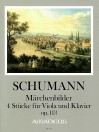 "SCHUMANN ""Fairytale pictures"" 4 pieces op. 113"