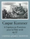 KUMMER 6 Caprices ou Exercices pour Flûte, op.12