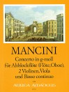MANCINI Concerto XIV in g-moll - Part.u.St.