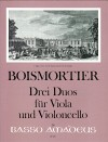 BOISMORTIER 3 sonatas for viola and violoncello