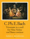 BACH C.Ph.E. Sonata a tre c minor (Helm-Verz. 592)