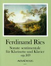 RIES Sonate sentimentale op. 169 in Es-dur
