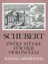 SCHUBERT 12 pieces for four violoncellos