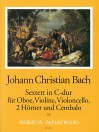 BACH J.Chr. Sextett in C-dur - Part.u.St.