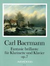 BAERMANN C. Fantasie brillante op. 7 - Part.u.St.