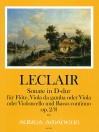 LECLAIR L'AIN?Sonata D-dur op. 2/8 - Part.u.St