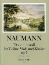 NAUMANN Trio op. 7 in f-moll - Part.u.St.
