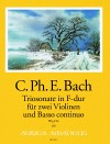 BACH C.PH.E Sonata a tre F major (Wq 154)