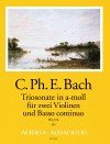 BACH C.PH.E Sonata a tre in a minor (Wq 156)
