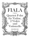 FIALA J. Quartett in F-dur - Part.u.St.