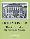 HOFFMEISTER F.A. Duetto G-dur - Part.u.St.