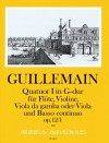 GUILLEMAIN, L.-G. Quatuor I op. 12/1 in G-dur