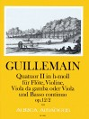 GUILLEMAIN, L.-G. Quatuor II op. 12/2 in h-moll