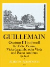 GUILLEMAIN, L.-G. Quatuor III op. 12/3 in d-moll