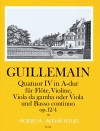 GUILLEMAIN, L.-G. Quatuor IV op. 12/4 in A-dur