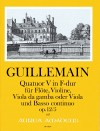 GUILLEMAIN, L.-G. Quatuor V op. 12/5 in F-dur