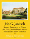 JANITSCH Sonata da camera in C-dur