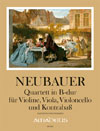 NEUBAUER Quartett in B-dur op. 3/2 - Part.u.St.