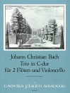 BACH Trio in C major for 2 flutes and violoncello