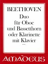 BEETHOVEN Duo op 43/14 - Part. und St.