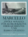MARCELLO 12 Sonaten op. 2 - Band IV: 10-12