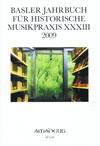 Basler Jahrbuch XXXIII, 2009