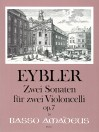 EYBLER Two Sonatas for two violoncellos op.7
