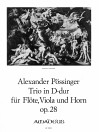 PÖSSINGER Trio in D-dur op. 28 - Part.u.St.