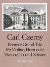 CZERNY Premier Grand Trio op. 105 - Part.u.St.