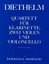 DIETHELM Quartet op. 167 - Score and parts