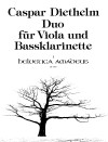 DIETHELM Duo op. 168 for viola and bassclarinet