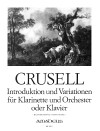 CRUSELL Introduktion und Variationen op. 12 - KA