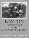 BASTON Concerto II C-dur - Part.u.St.