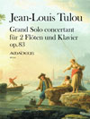 TULOU Grand Solo concertant op. 83 - Part.u.St.